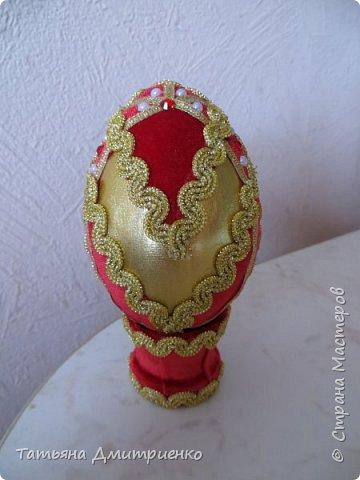 Всем, здравствуйте!Очень понравились Пасхальные яйца,сделанные Светланой Хачиной и её дочерью Радмилой.  http://stranamasterov.ru/node/709253  Вот решилась сделать фото 21