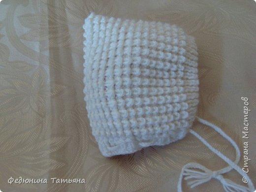 На зиму связала себе вот такую шапку, в две нитки, пряжа SUPER EXCELLENCE 49% шерсть, 51% акрил, 228 м, 100 гр. фото 3