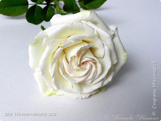 """Здравствуйте,дорогие Мастера и Мастерицы)!!Ох,как же давно я здесь не была...А за это время я,как и большинство)),успела """"заболеть"""" фоамираном))!!!И вот хочу показать вам свои розочки).Все розы сделаны из иранского фоамирана,тонировка масляной пастелью,стебли из полимерной глины,листья - фоамиран.Розочки делала по МК Александры Троицкой! фото 7"""