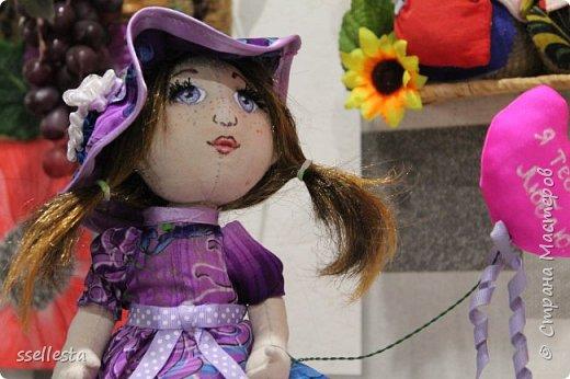 Любовалась я на куколок в интернете, а их там тьма тьмущая. И вот так захотелось что нибудь свое сотворить. Первый мой пробный вариант, надеюсь не последний, сейчас уже подумываю над подружкой для Лизы.  фото 3