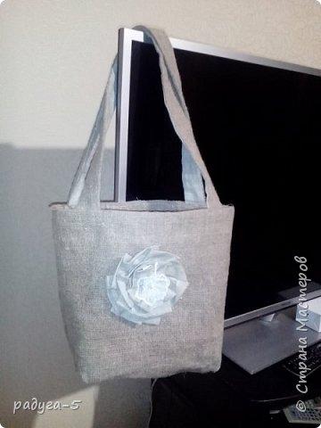 сумка-авоська, размер сумки 38*44см. Сумка плотная, двойная фото 1