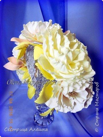 Доброго времени суток!!!  Ободок с нежными розами и фантазийными цветами сделан на заказ. фото 8