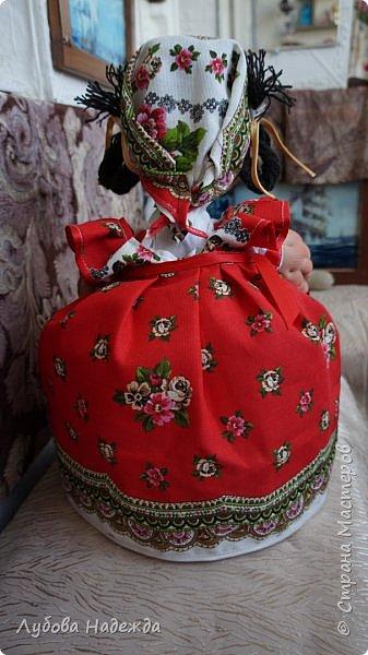 """Кукла-грелка на чайник""""Ирада"""" фото 3"""