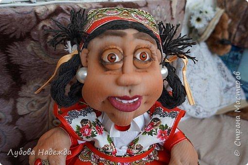 """Кукла-грелка на чайник""""Ирада"""" фото 1"""