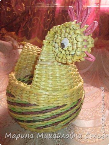 ВСЕХ,ВСЕХ!!!!!!С наступающим Праздником!!!!Вот,тоже решила сплести к празднику несколько изделий. фото 9