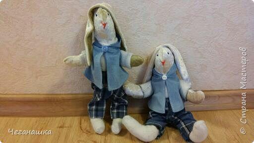Все началось с этих двух зайцев. Близилось 8 марта и хотелось порадовать своих дочурок и всех знакомых девочек. фото 3