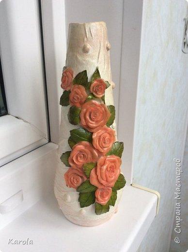 Вот такая ваза получилась...) фото 1