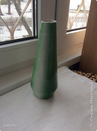 Вот такая ваза получилась...) фото 2