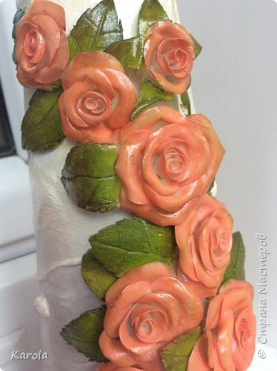 Вот такая ваза получилась...) фото 6