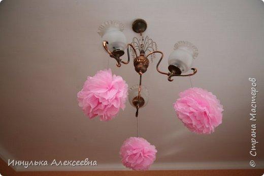Украшали комнату единичкой и воздушными шарами с гелием фото 2