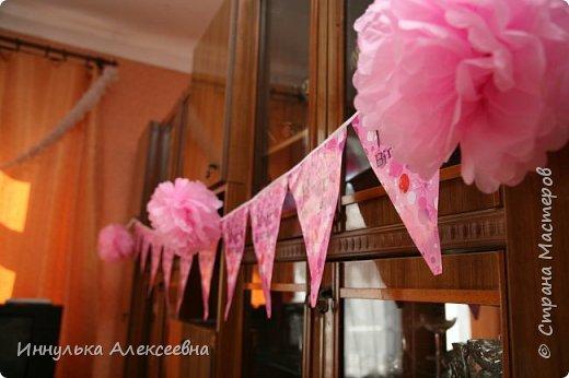 Украшали комнату единичкой и воздушными шарами с гелием фото 3