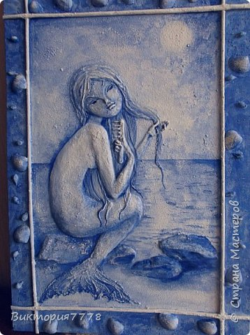 Муза подкралась ко мне, когда я насмотрелась замечательных работ Елены Luna Llena. Панно у нее великолепные, просто шедевры.  http://stranamasterov.ru/user/185109 фото 9