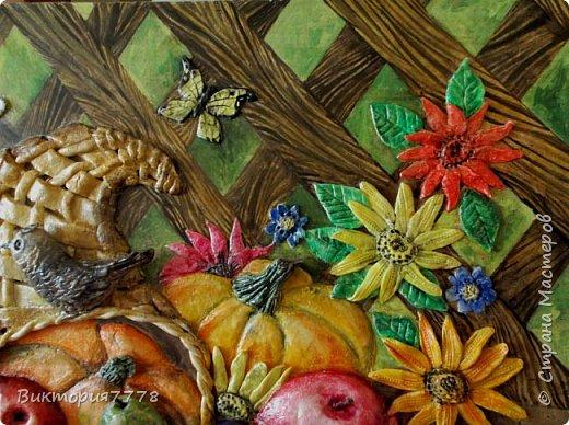 Муза подкралась ко мне, когда я насмотрелась замечательных работ Елены Luna Llena. Панно у нее великолепные, просто шедевры.  http://stranamasterov.ru/user/185109 фото 7