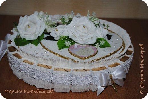 Торт на свадьбу. фото 1