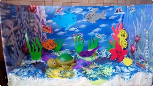 Макет моря в детский сад  фото 1
