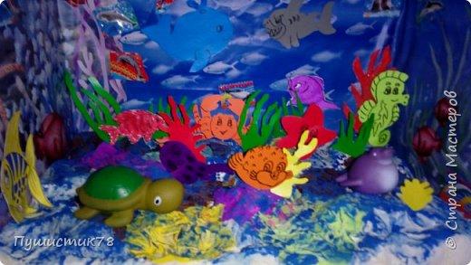 Макет моря в детский сад  фото 2