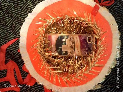 Часы из конфет  фото 6