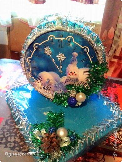 Часы из конфет  фото 2
