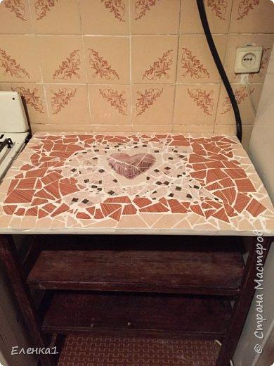 Столешница мозаикой фото 1