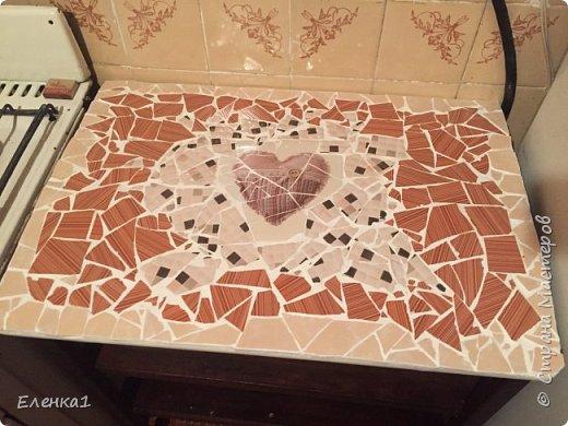 Столешница мозаикой фото 2