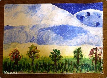 автор работы: Миляуша, ученица 5 класса. Планеты готовятся к параду. фото 8
