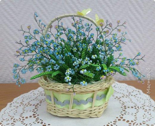 """Эти нежные цветочки ждали весны, чтобы появиться на свет. """"Зарождались"""" они еще осенью. Работа кропотливая и совсем не быстрая. фото 1"""