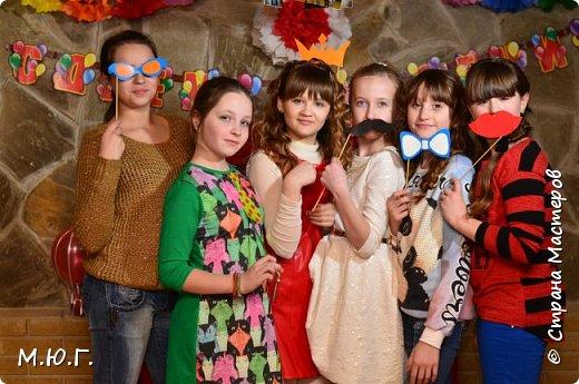 В марте мне предоставилась возможность помочь в организации фотозон для двух детских праздников для Сашеньки и Ангелинки.Фото получились очень красивые,красочные.Я довольна своим первым опытом,большое спасибо всем,кто помогал.Надеюсь девченкам все понравилось. фото 4