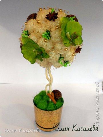 Торт из конфет на юбилей. Конфеты Roshen Konafetto, в розочках АВК Трюфель Оригинальный. фото 15