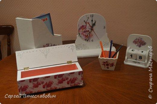 """Писменный набор """"Орхидея"""" фото 3"""