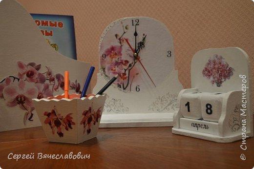 """Писменный набор """"Орхидея"""" фото 4"""
