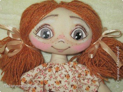 Игровая ,текстильная куколка.Ростом 38 см.  фото 1