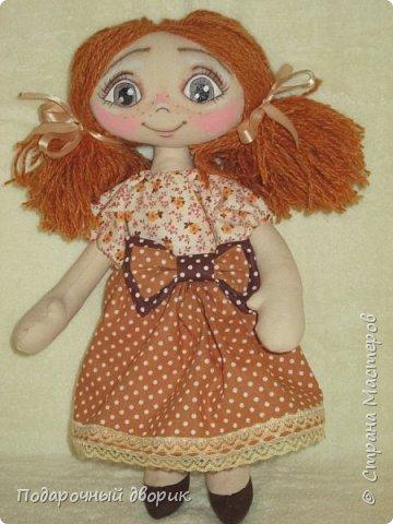 Игровая ,текстильная куколка.Ростом 38 см.  фото 4
