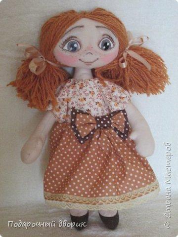 Игровая ,текстильная куколка.Ростом 38 см.  фото 7
