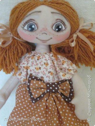 Игровая ,текстильная куколка.Ростом 38 см.  фото 8
