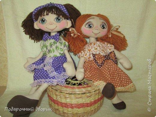 Игровая ,текстильная куколка.Ростом 38 см.  фото 9