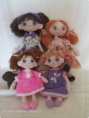 Игровая ,текстильная куколка.Ростом 38 см.  фото 10