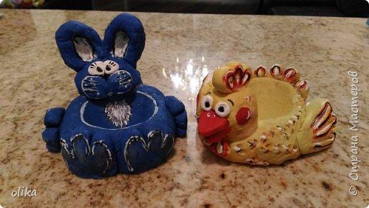 Подставочки под пасхальные яйца фото 1