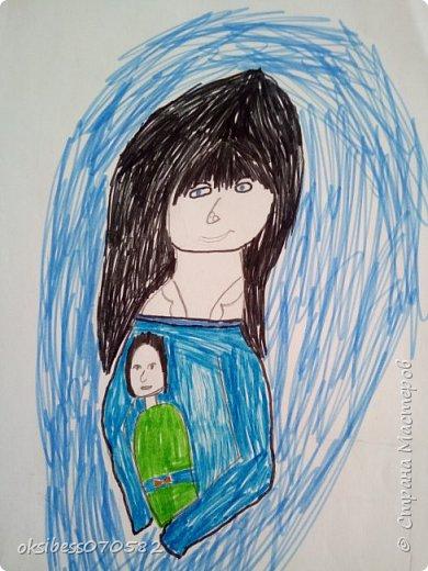 Одна из моих любимых работ, ученик 4 класса, Ступакова Данила.  Еще есть работы, но времени нет все загрузить, как будет возможность, то выложу