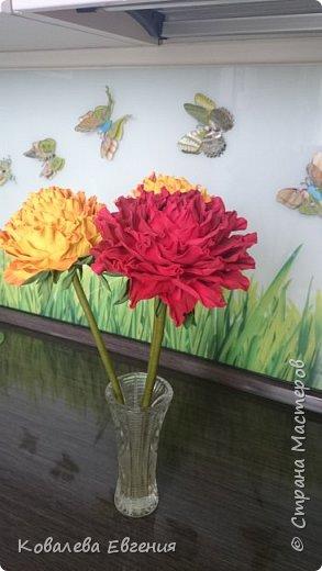 Цветы ( неизвестные) из фоамирана  фото 2