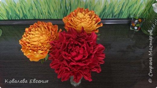 Цветы ( неизвестные) из фоамирана  фото 1
