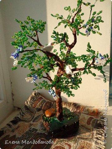 Лёгкое бисерное дерево фото 1