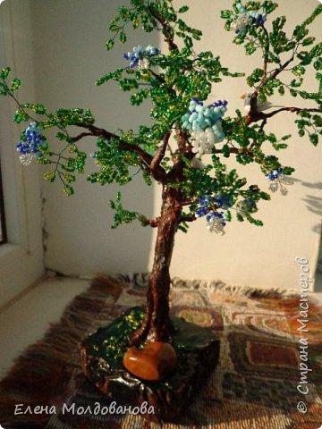 Лёгкое бисерное дерево фото 5
