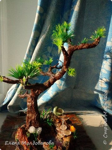 Лёгкое бисерное дерево фото 7