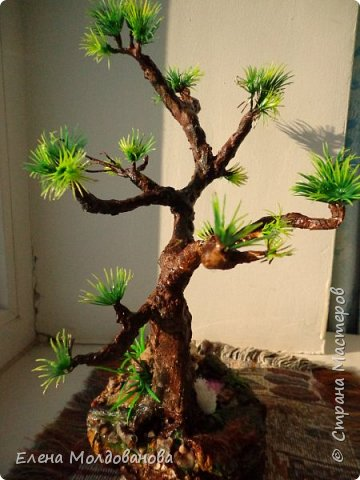 Лёгкое бисерное дерево фото 9