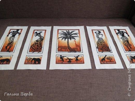 """Всем доброго дня! Наконец я осуществила свою давнишнюю мечту - вышила мои любимые """"Африканские истории"""" фото 4"""