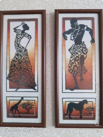 """Всем доброго дня! Наконец я осуществила свою давнишнюю мечту - вышила мои любимые """"Африканские истории"""" фото 5"""