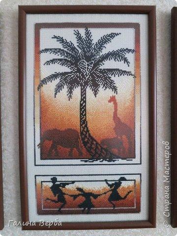 """Всем доброго дня! Наконец я осуществила свою давнишнюю мечту - вышила мои любимые """"Африканские истории"""" фото 7"""