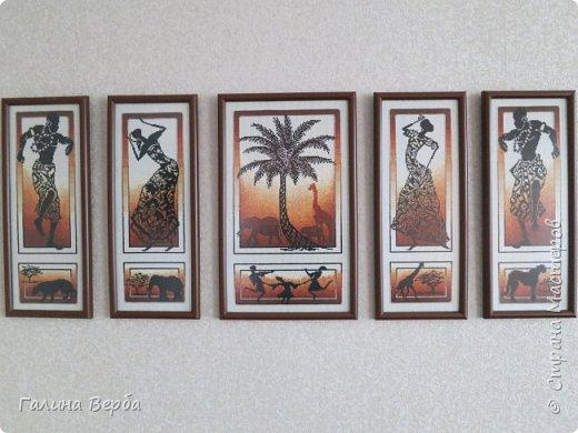 """Всем доброго дня! Наконец я осуществила свою давнишнюю мечту - вышила мои любимые """"Африканские истории"""" фото 1"""