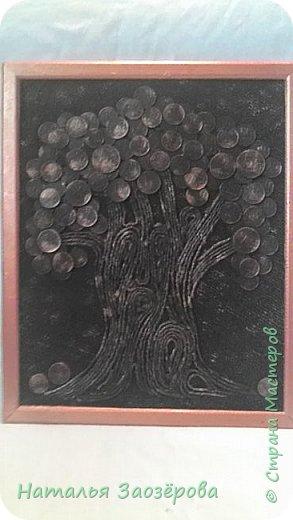 Сделала себе деревце по МК m_a_г_i_n_a Волшебный саженец.Вместо салфетных жгутиков использовала шпагат.