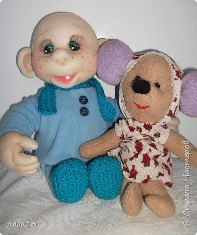 малыш и мышонок. фото 1